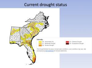 7-14-15 SE drought status